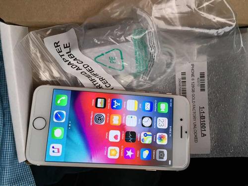 iphone 6 128gb liberado impecable 200us