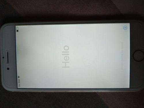 iphone 6 16 gb modelo a 1549 con cuenta icloud(pila nueva)