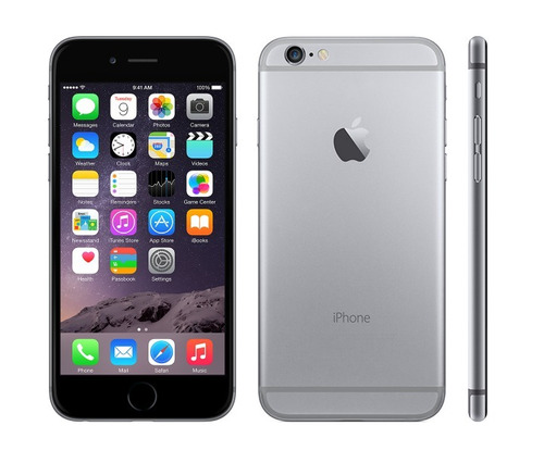 iphone 6 16gb (190) 4g lte liberado cargador