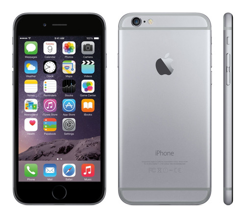 iphone 6 16gb 4g lte 4,7 12 cuotas s/r + regalo oferta! amv