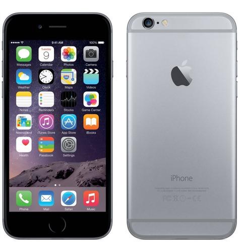 iphone 6 16gb 4g lte libre de fabrica sellado nuevo - gris