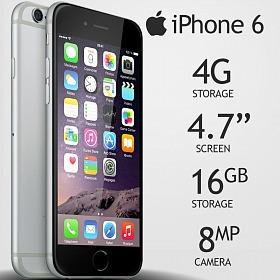 8cf725618 Iphone 6 16gb Apple Lacrado Original Garantia 1 Ano Brasil - R ...