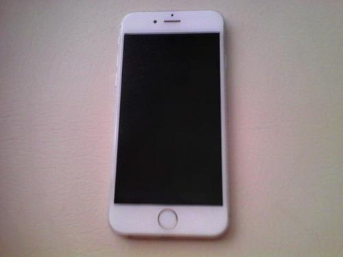 iphone 6 16gb libre cualquier compañía silver plata