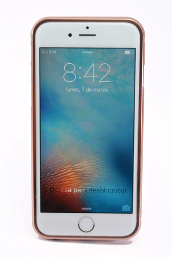iphone 6 16gb plata libre garantia + regalos