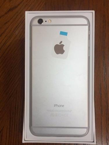 iphone 6 16gb silver, 4g lte, retina, factura, como nuevo !