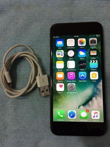 iphone 6 16gb silver como nuevo
