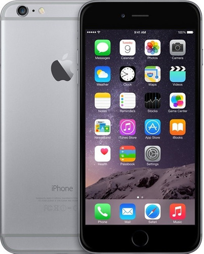 iphone 6 16gb  silver, space grey liberados lte touch id