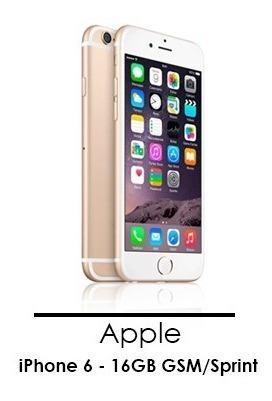 iphone 6 16gb telefono celular liberado como nuevo gsm