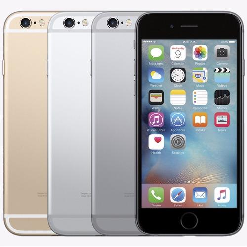 iphone 6 32gb 4g apple usado libre operador / tienda