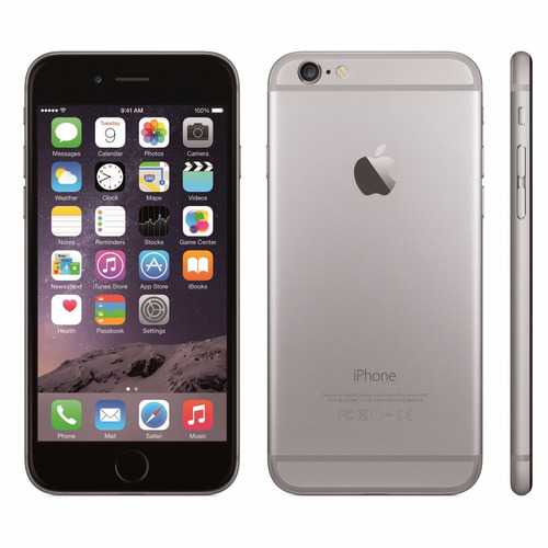 iphone 6 32gb novo garantia apple 1 ano anatel space gray