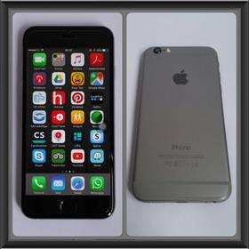 iPhone 6 64 Gb - Space Gray Frete Grátis Estado De Novo + Nf