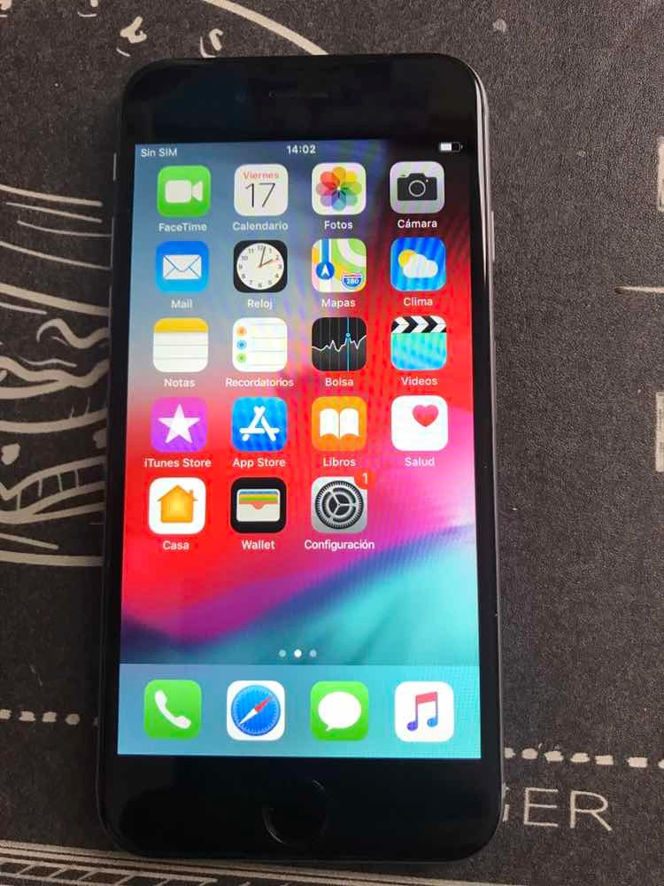 30f5e3641d6 iPhone 6 64 Gb Libre De Fabrica - $ 11.000,00 en Mercado Libre