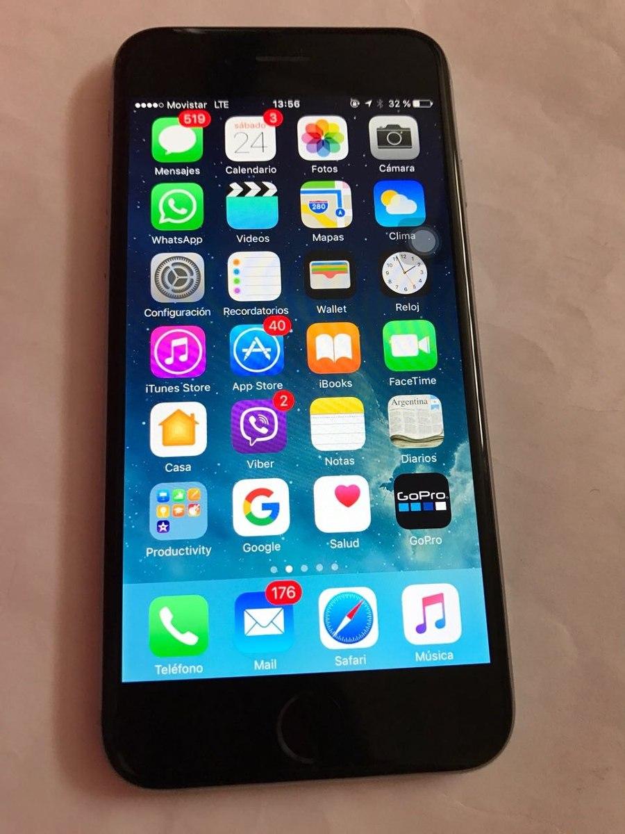 cb5ae6b81ed Iphone 6 - 64 Gb Libre De Fabrica Impecable - $ 10.999,00 en Mercado ...