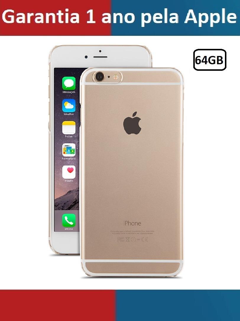 a9725ba76 iphone 6 64 gb novo com nf garantia 1ano apple! na caixa. Carregando zoom.