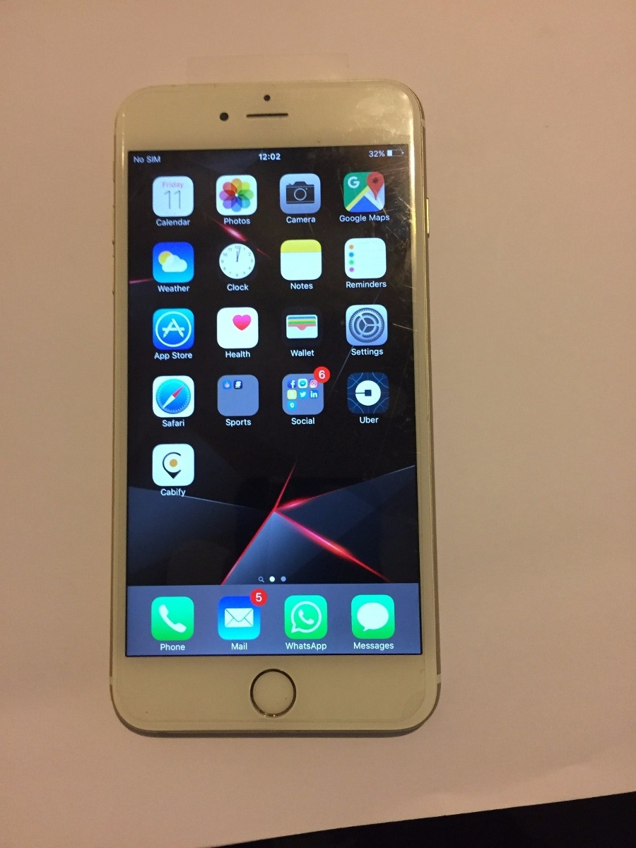 515e0e106a3 iPhone 6 64gb Dorado Apple Celulares Baratos Oferta Bz - $ 7,700.00 ...