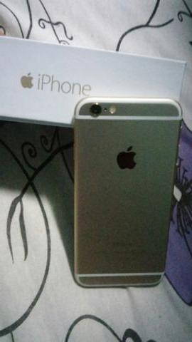 iphone 6 64gb dourado/gold completo