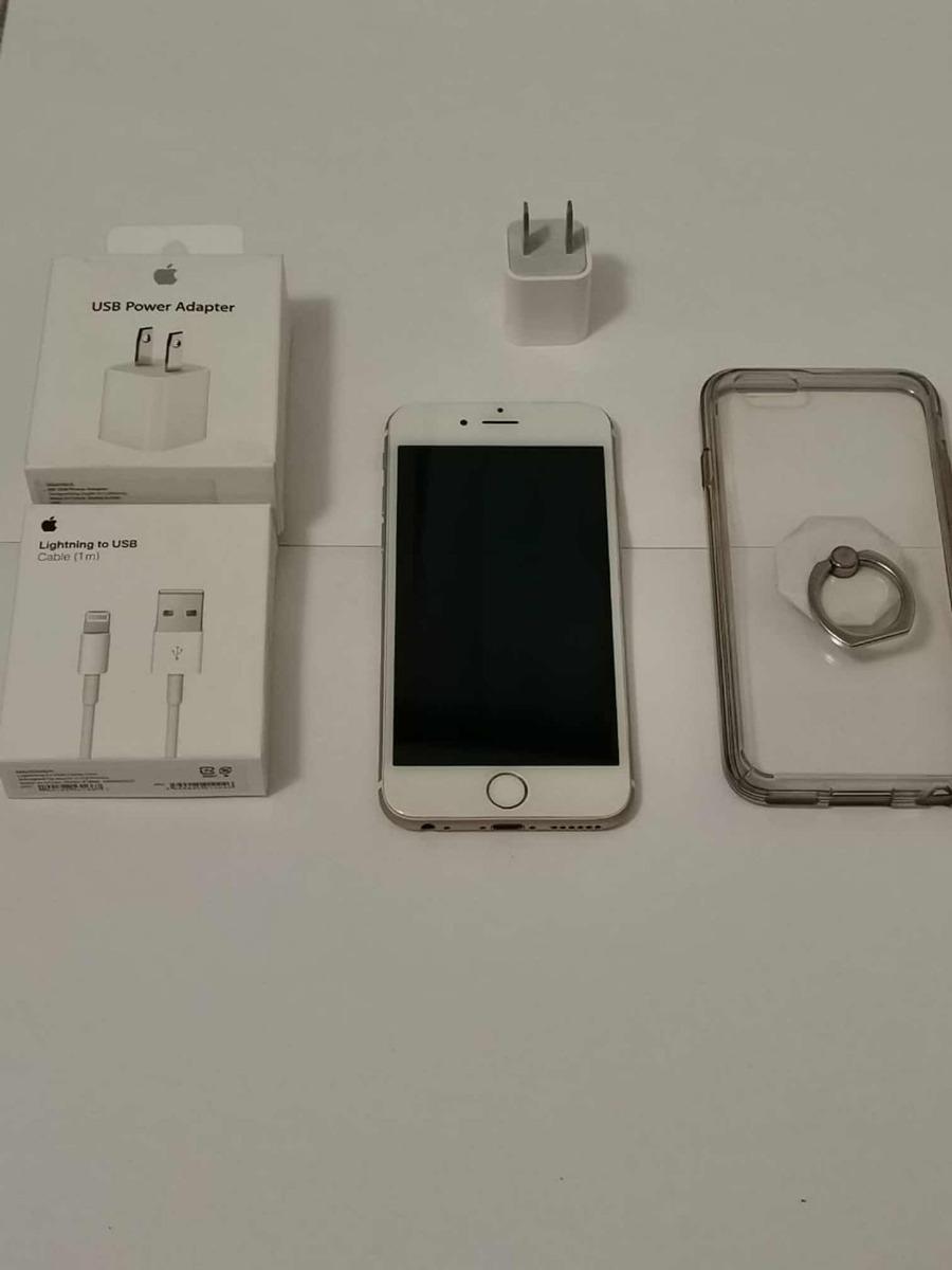 f78ccdd9a30 iPhone 6 +64gb +liberado +funda Y Cargador Original - $ 3,500.00 en ...
