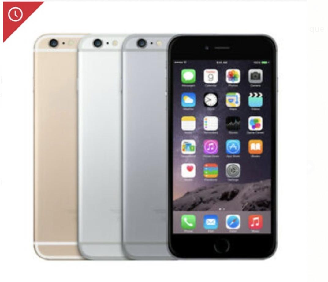 6f11c461378 iphone 6 6s 16gb 64gb 128gb | mejor p r e c i o garantizado. Cargando zoom.