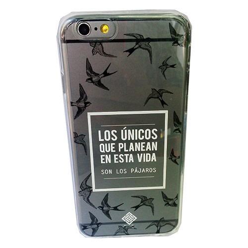 iphone 6 6s 4.7 funda rigida design collection pajaros