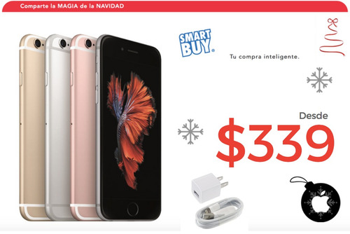 iphone 6 6s 7 16gb 64gb 128gb | precios promo navidad