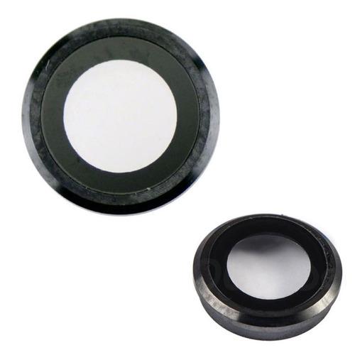 iphone 6 6s plus cubierta camara trasera lente cristal negro