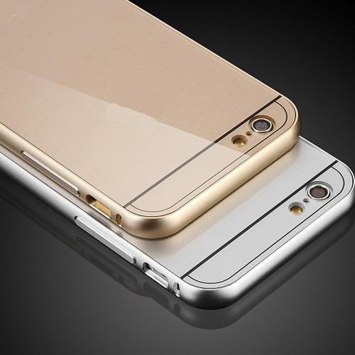 iphone 6 bumper protector en aluminio+ 2 screen protector