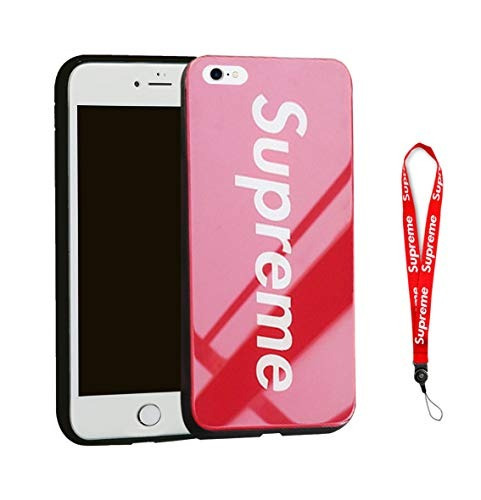 best cheap cbcd1 9efbc iPhone 6 Case, Ddustingshop Red Street Supreme Mirror Glossy