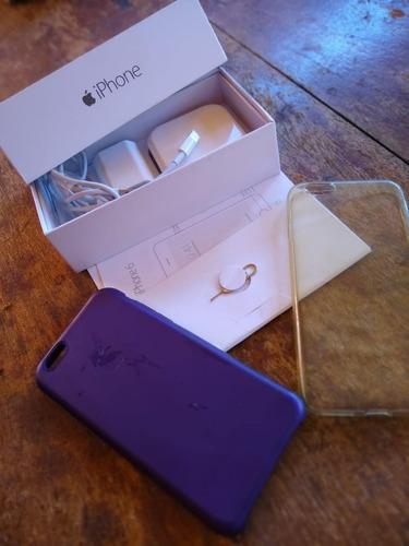 iphone 6 cinza 16gb (usado!) apenas ml
