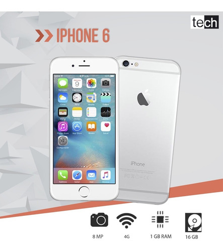 iphone 6 de 16 gb nuevos cajá sellada