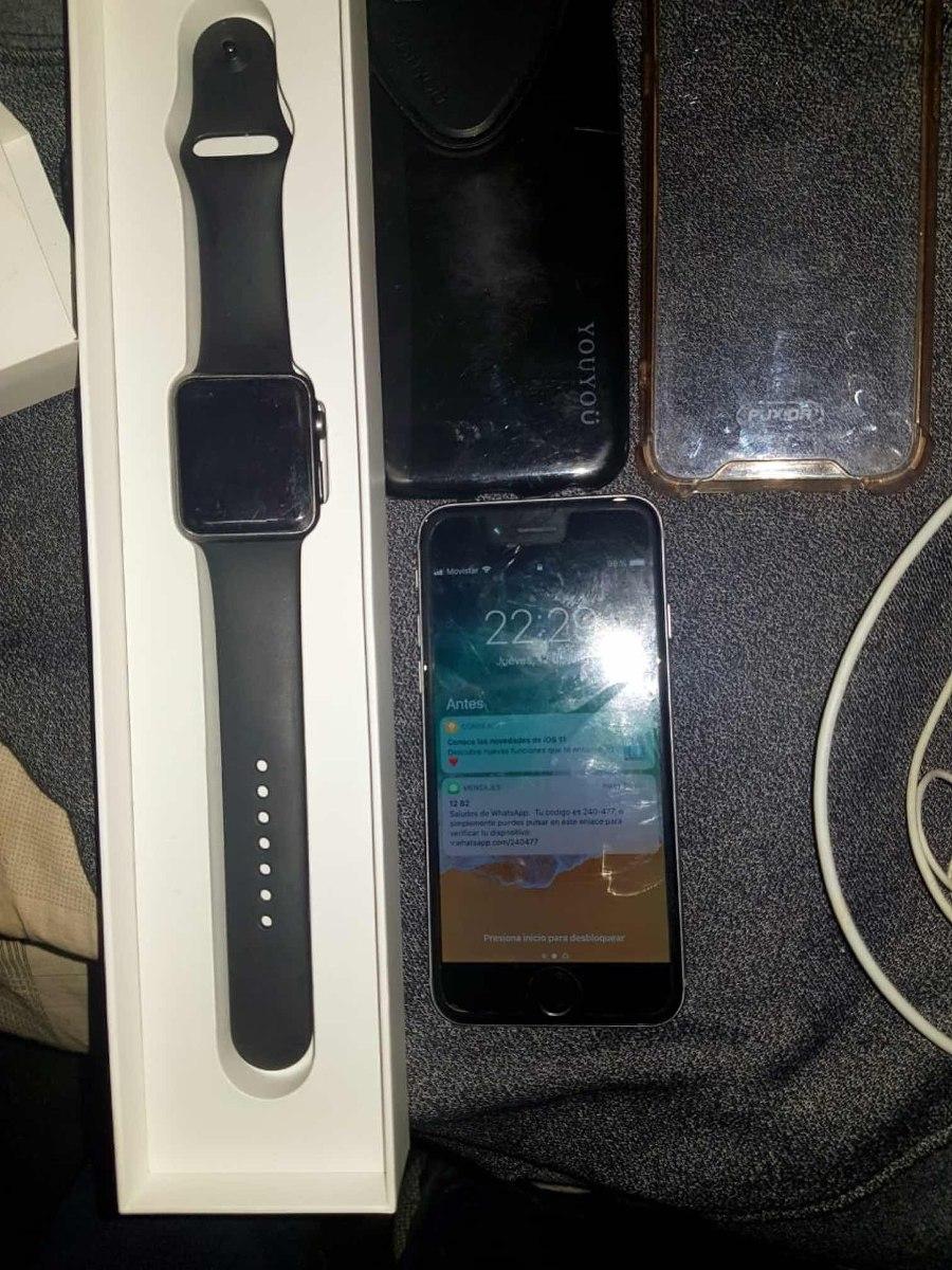 huge discount 9d968 fb699 iPhone 6 De 16 Y Apple Watch Series 1 - $ 12.000,00