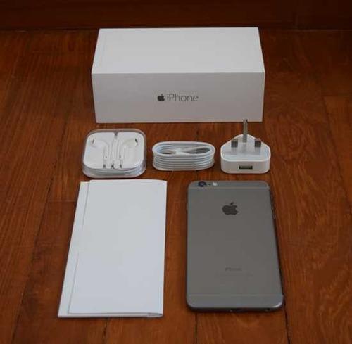 iphone 6 en perfecto estado con su caja