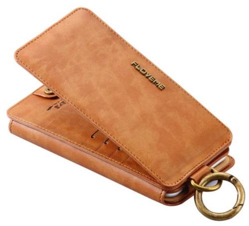 iphone 6 - funda billetera tarjetero ejecutiva con gancho