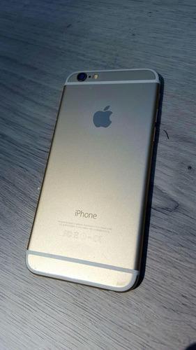 iphone 6 gold 64gb (repuesto) (leer)