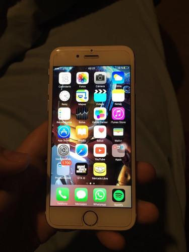 iphone 6 gold exelente estado