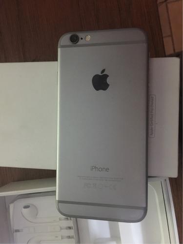 iphone 6 gris 16 gb con caja legal liberado (reparar)