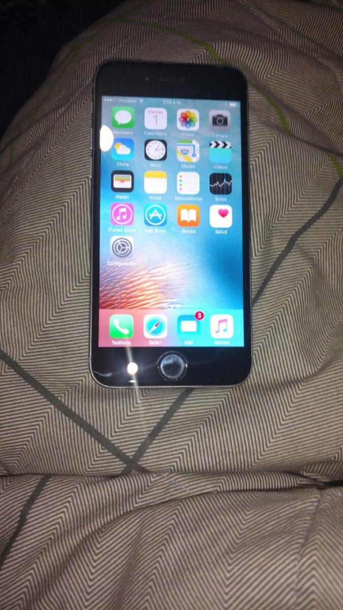 31ab0337d96 iPhone 6 Liberado Para Chile Y El Extranjero 16 Gb - $ 200.000 en ...