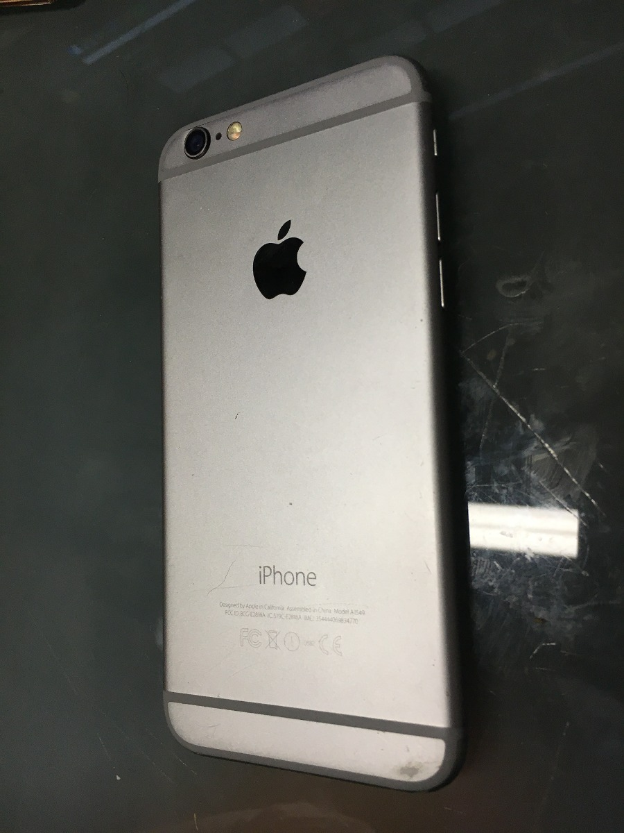 3b4aad07f6f iPhone 6 Para Piezas O Reparación - $ 2,300.00 en Mercado Libre