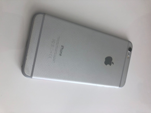 iphone 6 plus 128 gb blanco factura y caja 10/10-sin huella