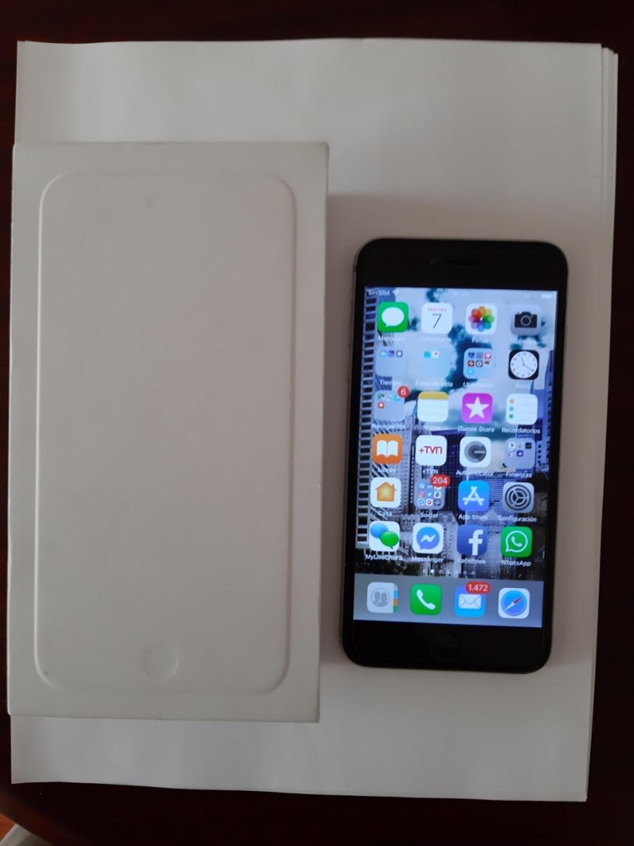 7e794665d64 iphone 6 plus 128 gb color plata. en perfectas condiciones. Cargando zoom.