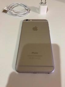 Funda para Iphone6 plateada con escamas en brillo dorado de