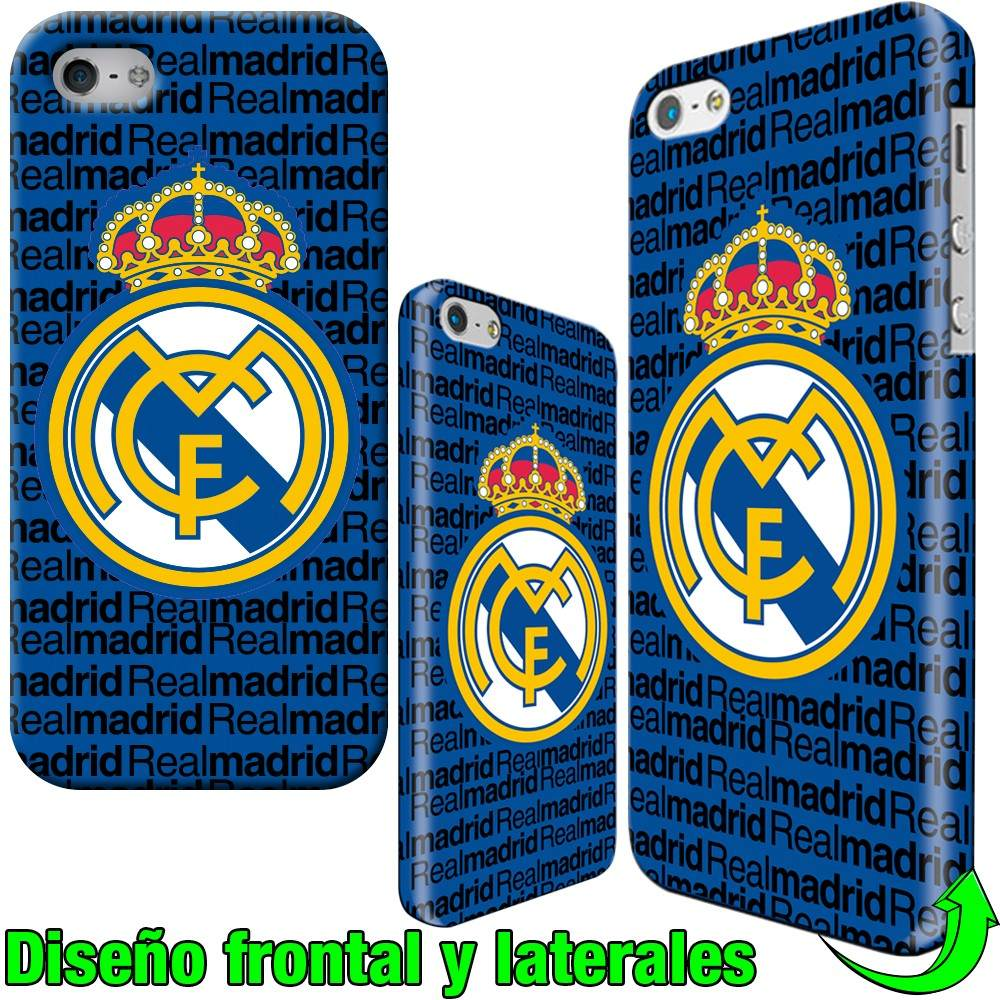 Iphone 6 plus 5 5s 4s real madrid fundas carcasas estuches 7 en mercado libre - Fundas del real madrid ...