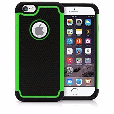 iphone 6 plus - 6s plus - case estuche rigido silicona