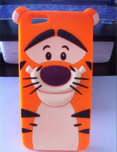 iphone 6 plus carcasa protector diseño tigre 3d tpu