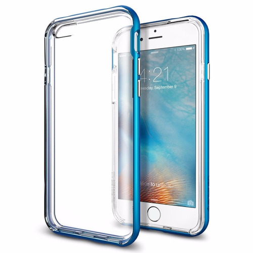 iphone 6 plus - funda carcasa spigen neo hybrid ex original