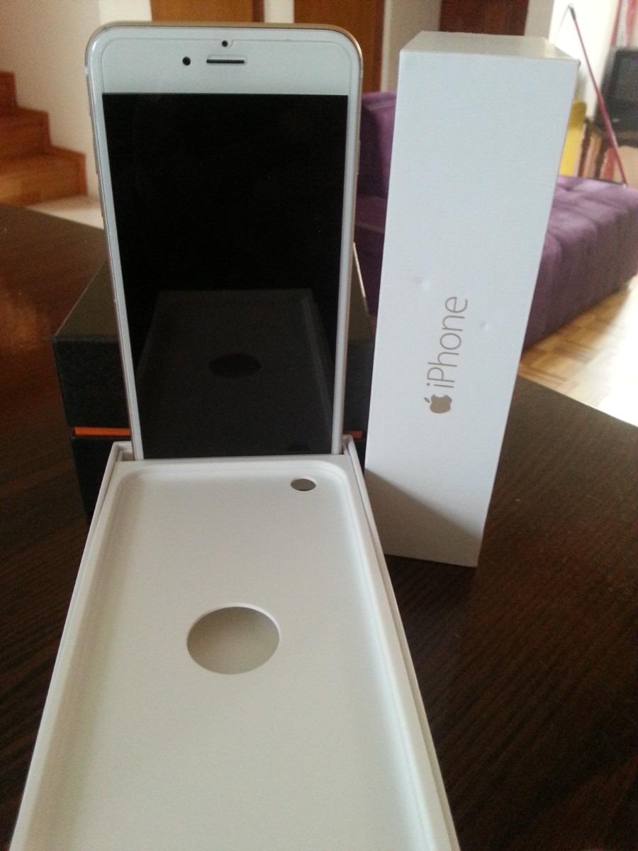 iphone 6 plus gold 128 gb todo empaquetado 13. Black Bedroom Furniture Sets. Home Design Ideas