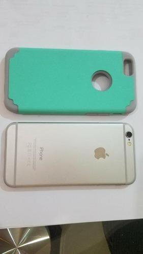 iphone 6 silver de 64 gb (280) usado