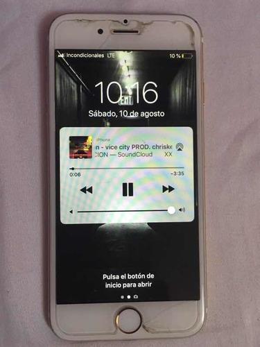 iphone 6 usado 32gb  liberado de sim y cuenta icloud