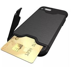 9b770525ddc iPhone 6plus Funda Alta Resistencia Compartimento De Tarjeta