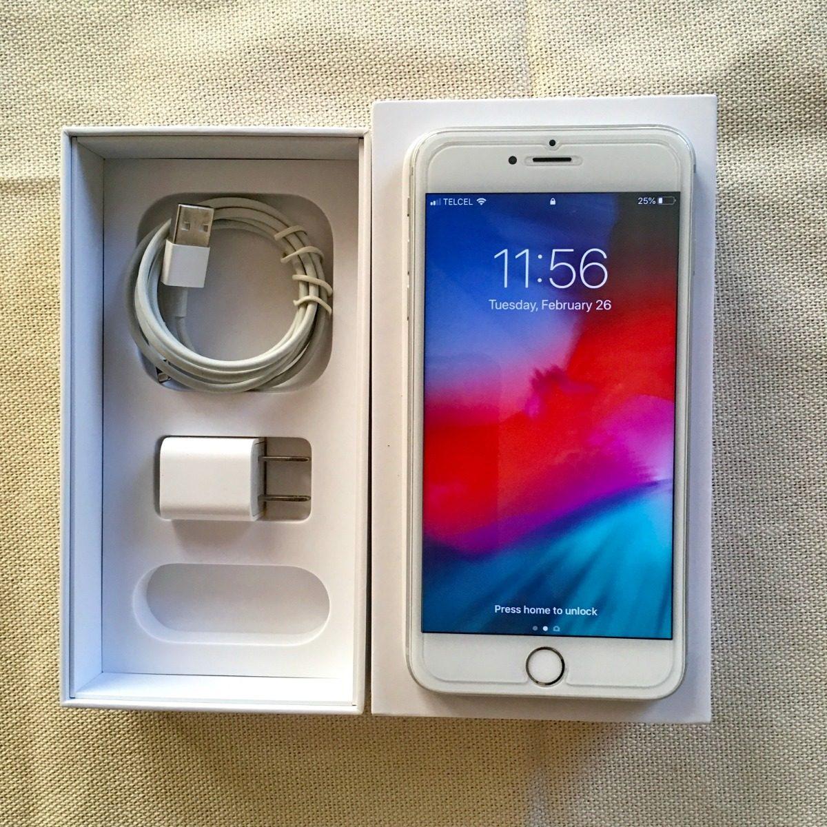 d5d6fdcb6b3 Cargando zoom... iphone 6s 128 gb color plata, liberado, con accesorios