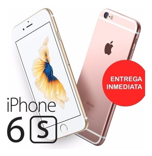 iphone 6s 128gb 4g lte , libre, 12mpx, 2gb ram, caja sellada